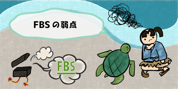 FBSの弱点のセクション画像