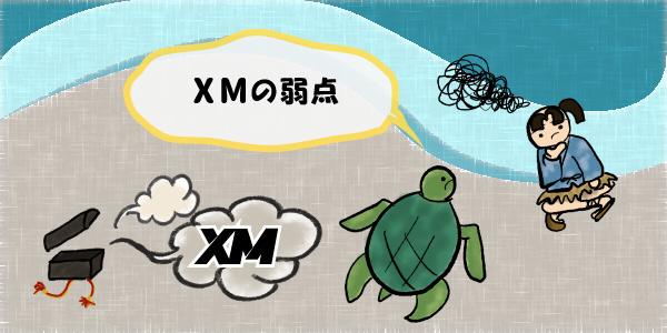 XMの弱点のセクション画像